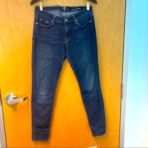 7 FOR ALL MANKIND Gwenevere Jeans Sz 31